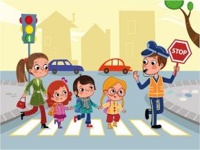 Дорожная безопасность. Дети